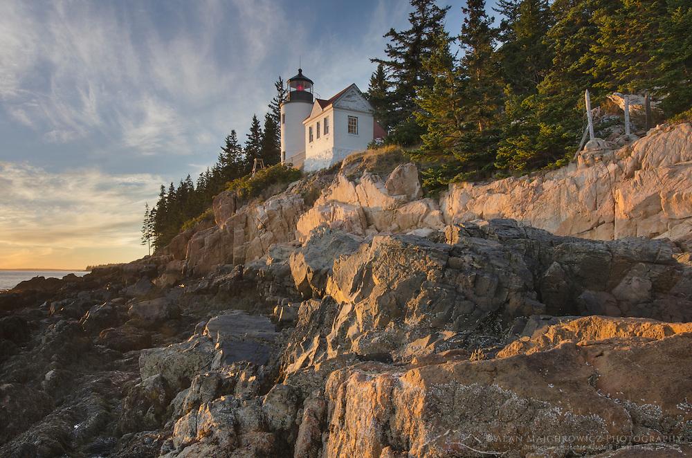 Bass Harbor Head Lighthouse, Acadia National Park, Maine