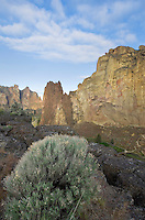Sunrise at Smith Rock State Park Oregon