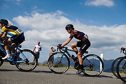 Alexis Ryan (USA) on the longest climb of the day at Tour Cycliste Féminin International de l'Ardèche 2018 - Stage 6, a 113.7km road race from Savasse to Montboucher sur Jabron, France on September 17, 2018. Photo by Sean Robinson/velofocus.com