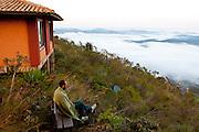Brumadinho_MG, Brasil.<br /> <br /> Estalagem do Mirante, fica no alto da serra da Moeda a 1.200 m. A pousada localizada no municipio de Brumadinho, Minas Gerais.<br /> <br /> Estalagem do Mirante in serra da Moeda. Its is located in Brumadinho, Minas Gerais.<br /> <br /> Foto: RODRIGO LIMA / NITRO