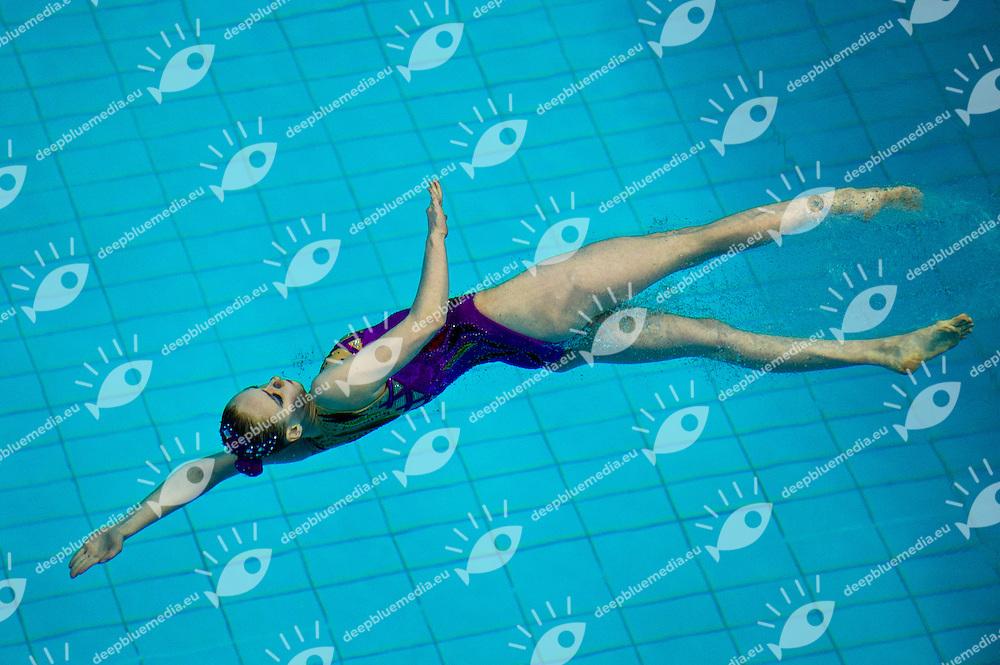Ruzmetova Anastasiya     UZB.Syncro Solo Free Routine...9th Asian Swimming Championships.Dubai - U.A.E.  Nov.15th - 25th 2012.Day 03 - Photo Barbagelata/Deepbluemedia/Insidephoto