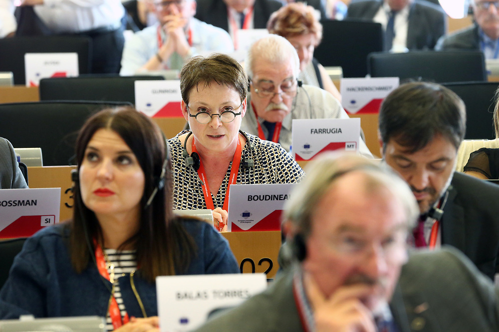 12 May 2017, 123rd Plenary Session of the European Committee of the Regions <br /> Belgium - Brussels - May 2017 <br /> <br /> Mrs BOUDINEAU Isabelle	, Vice-pr&eacute;sidente du Conseil r&eacute;gional Aquitaine-Poitou-Charente-Limousin, France<br /> <br /> &copy; European Union / Patrick Mascart