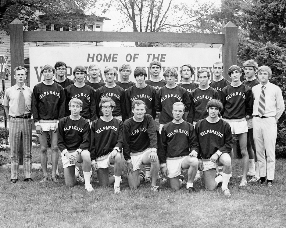 1971 Men's Cross Country<br /> Indiana Collegiate Conference<br /> Regular Season Champion