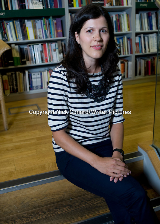 Marie Phillips, British author of 'Gods Behaving Badly', pictured at London Review of Books Bookshop, London, UK, August 6, 2010.<br /> <br /> <br /> copyright Nick Cunard/Writer Pictures<br /> contact +44 (0)20 822 41564<br /> info@writerpictures.com<br /> www.writerpictures.com