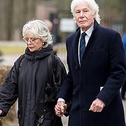 NLD/Leusden/20180306 - Uitvaart Mies Bouwman, paul van Vliet en partner Lidewij
