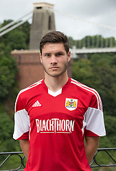 Jack Batten of Bristol City - Photo mandatory by-line: Kieran McManus/JMP - Tel: Mobile: 07966 386802 31/07/2013 - SPORT - FOOTBALL - Avon Gorge Hotel - Clifton Suspension bridge - Bristol -  Team Photo