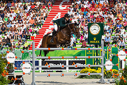 Oliver Lazarus, (RSA), Pour Le Poussage - World Champions, - Second Round Team Competition - Alltech FEI World Equestrian Games™ 2014 - Normandy, France.<br /> © Hippo Foto Team - Leanjo De Koster<br /> 25/06/14