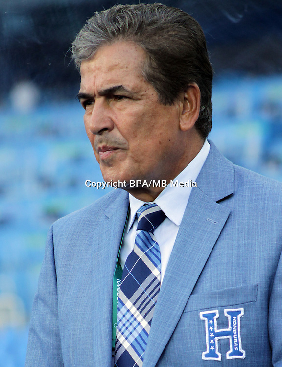Fifa Men´s Tournament - Olympic Games Rio 2016 - <br /> Honduras National Team -  <br /> Jorge Luis PINTO - DT Honduras