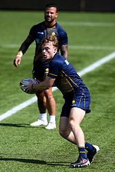 Gareth Simpson of Worcester Warriors during training ahead of the Gallagher Premiership fixture against Harlequins - Mandatory by-line: Robbie Stephenson/JMP - 24/08/2020 - RUGBY - Sixways Stadium - Worcester, England - Worcester Warriors Training