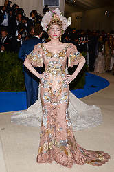 Haley Bennett arriving at The Metropolitan Museum of Art Costume Institute Benefit celebrating the opening of Rei Kawakubo / Comme des Garcons : Art of the In-Between held at The Metropolitan Museum of Art  in New York, NY, on May 1, 2017. (Photo by Anthony Behar) *** Please Use Credit from Credit Field ***