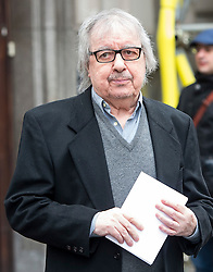 © London News Pictures. 05/03/2016. London, UK.  BILL WYMAN attends a ceremony to mark the wedding of Rupert Murdoch and Jerry Hall held at St Brides Church on Fleet Street,  central London on February 05, 2016. . Photo credit: Ben Cawthra /LNP