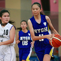 National B Div Bball: Nanyang Girls' vs Deyi