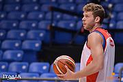 Niccolo Melli<br /> Nazionale Italiana Maschile Senior<br /> Eurobasket 2017 - Group Phase<br /> Allenamento<br /> FIP 2017<br /> Tel Aviv, 31/08/2017<br /> Foto Ciamillo - Castoria/ M.Longo