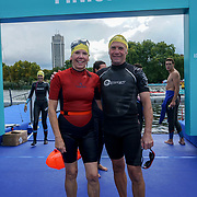 London, England, UK. 16th September 2017. Thousands of Swimmers conquer Swim Serpentine 2017 at Serpentine lake.