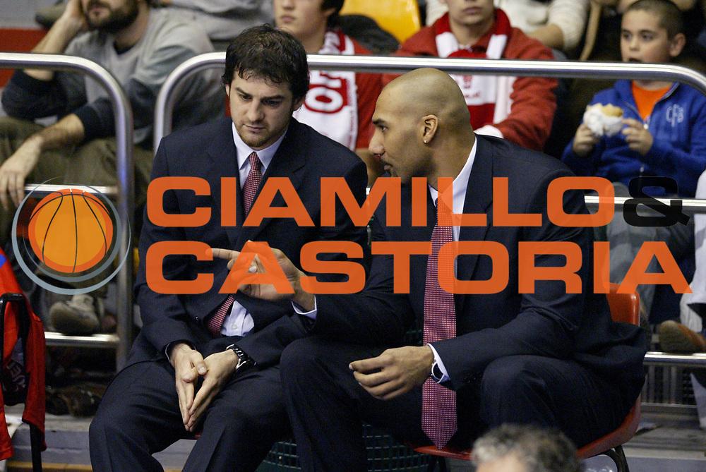 DESCRIZIONE : Milano Lega A1 2006-07 Armani Jeans Milano Premiata Montegranaro<br /> GIOCATORE : Calabria Blair<br /> SQUADRA : Armani Jeans Milano<br /> EVENTO : Campionato Lega A1 2006-2007 <br /> GARA : Armani Jeans Milano Premiata Montegranaro<br /> DATA : 04/03/2007 <br /> CATEGORIA : Curiosita<br /> SPORT : Pallacanestro <br /> AUTORE : Agenzia Ciamillo-Castoria/G.Cottini