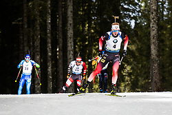 Johannes Thingnes Boe (NOR) during theMass Start Men 15 km at day 4 of IBU Biathlon World Cup 2019/20 Pokljuka, on January 23, 2020 in Rudno polje, Pokljuka, Pokljuka, Slovenia. Photo by Peter Podobnik / Sportida