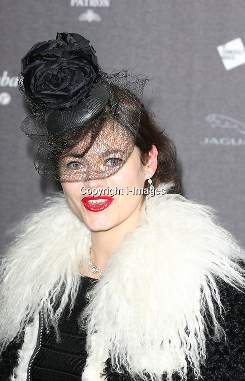 Jasmine Guiness  arriving at the opening of the  Isabella Blow at the Isabella Blow exhibition at Somerset House in London, Tuesday, 19th November 2013   Photo by: i-Images