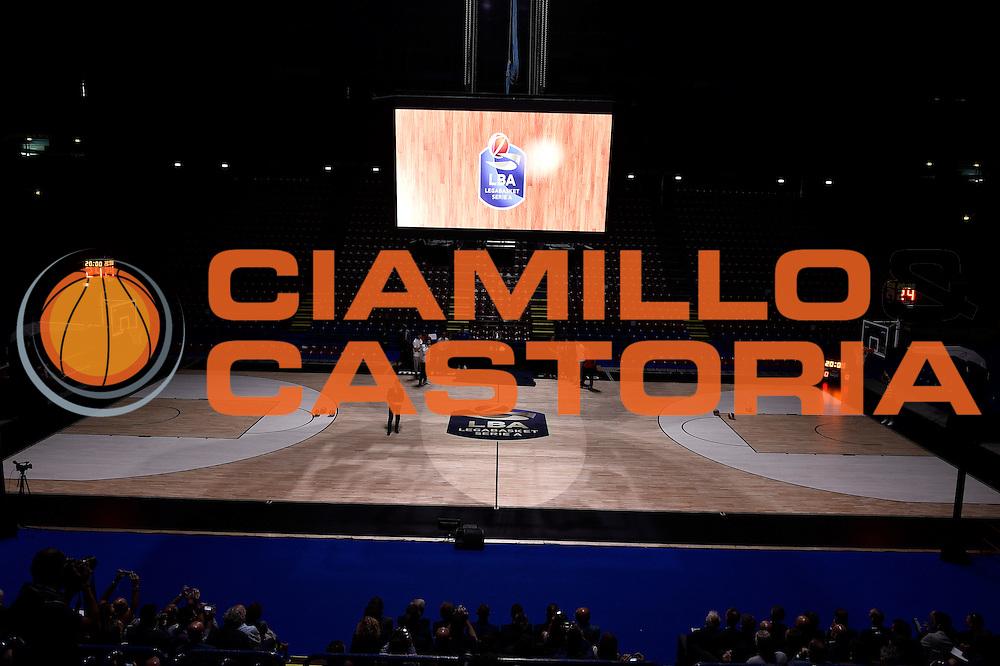 Nuovo Logo Lega Basket<br /> Presentazione Campionato Lega Basket 2016-2017<br /> Basket Serie A  2016<br /> Milano 26/09/2016<br /> Foto Ciamillo-Castoria