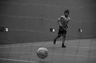 Sao Paulo, Brasil - December 07 of 2014: Marco plays football. photo: Caio Guatelli