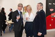 TIM TAYLOR; LADY HELEN TAYLOR, opening of the 2010 Frieze art fair. Regent's Park. London. 13 October 2010. -DO NOT ARCHIVE-© Copyright Photograph by Dafydd Jones. 248 Clapham Rd. London SW9 0PZ. Tel 0207 820 0771. www.dafjones.com.
