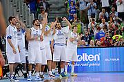 LUBIANA EUROBASKET 2013 16 SETTEMBRE 2013<br /> NAZIONALE ITALIANA MASCHILE<br /> ITALIA VS SPAGNA<br /> NELLA FOTO: TEAM<br /> FOTO CIAMILLO