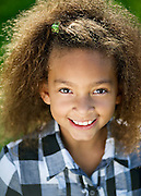 Los Angeles Child Actor Headshot. Photographed on location in Venice Beach.