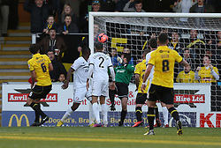 Burton Albion's Adam McGurk scores the first goal - Photo mandatory by-line: Matt Bunn/JMP - Tel: Mobile: 07966 386802 10/11/2013 - SPORT - FOOTBALL - Pirelli Stadium - Burton upon Trent - Burton Albion v Hereford United - FA Cup