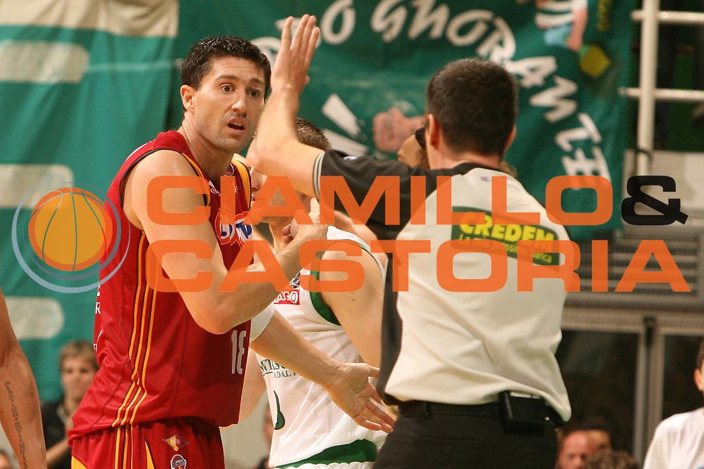 DESCRIZIONE : Siena Lega A1 2007-08 Playoff Finale Gara 2 Montepaschi Siena Lottomatica Virtus Roma <br /> GIOCATORE : Roberto Gabini<br /> SQUADRA : Lottomatica Virtus Roma <br /> EVENTO : Campionato Lega A1 2007-2008 <br /> GARA : Montepaschi Siena Lottomatica Virtus Roma <br /> DATA : 05/06/2008 <br /> CATEGORIA : ritratto<br /> SPORT : Pallacanestro <br /> AUTORE : Agenzia Ciamillo-Castoria/E.Castoria