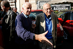 Rome October 11 2008- Protest against italian government. Bertinotti