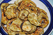 Home cooking - grilled courgette