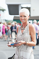 29/07/2014 Anita Walsh from Dunmore Galway at the Tuesday evening meeting of the Galway Summer racing Festival. Photo: Andrew Downes