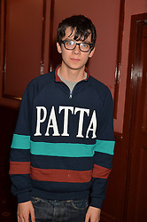 Actor ASA BUTTERFIELD at an after show party following the opening of Peter Pan at the New Wimbledon Theatre, 93 The Broadway, London on 8th December 2015.