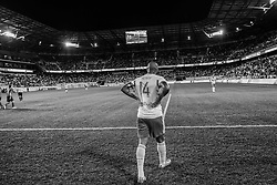 HARRISON, NJ - MAY 10: Thierry Henry #14 of New York Red Bulls looks on during the match against the Chicago Fire at Red Bulls Arena on May 10, 2014. (Photo By: Rob Tringali) Thierry Henry