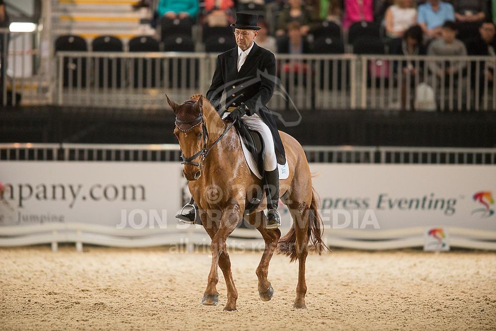 Bill Levett (AUS) & Hippolyte - Dressage - Express Eventing - Horse World Live - ExCel London - 17 November 2012