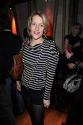DAISY BLOUNT at the Tatler Little Black Book Party held at Chinawhite, 4 Winsley Street, London on 20th November 2009.