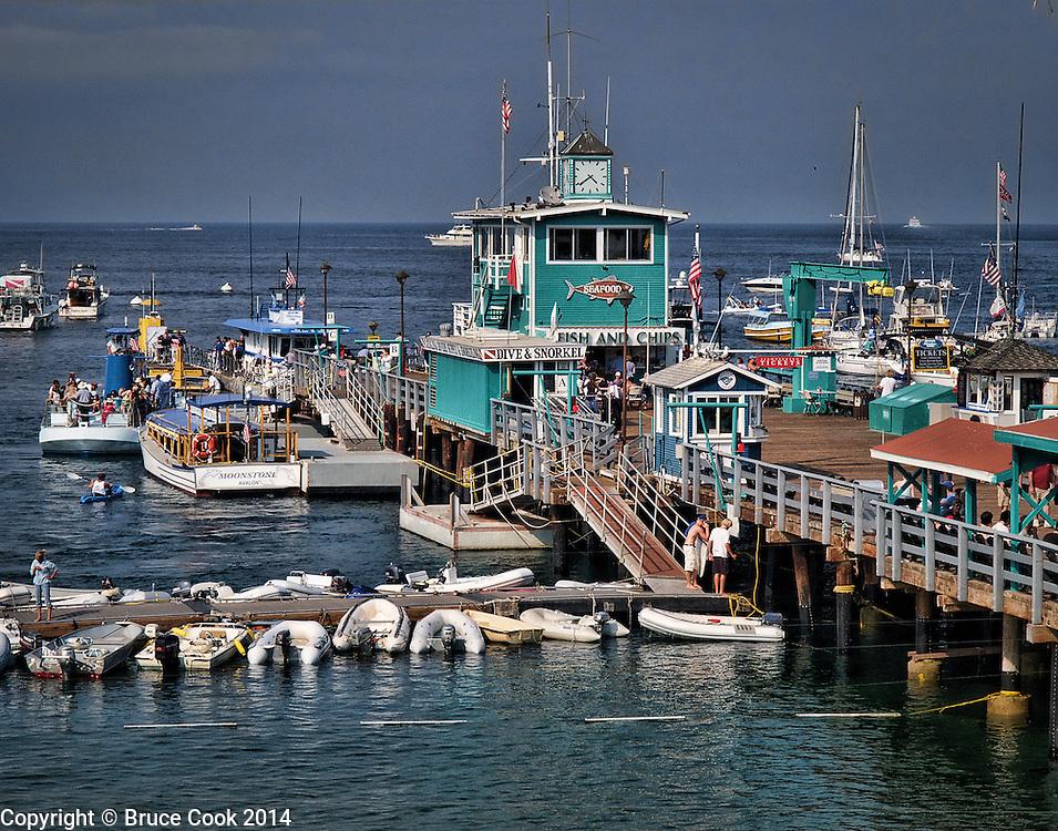 Green Pleasure Pier in Avalon