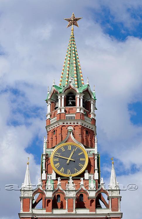 Moscow Kremlyn Tower.