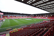 Sheffield United ground before the Sky Bet League 1 match between Sheffield Utd and Bradford City at Bramall Lane, Sheffield, England on 28 December 2015. Photo by Ian Lyall.