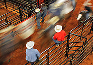 The MHSRA State Finals Rodeo were hosted at the Forrest County Multi-Purpose Center on Saturday night . Bryant Hawkins/The Hattiesburg American