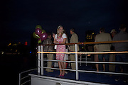 MEGAN HUNG, To celebrate the launch of  ïCrimeÍ,  by Irvine Welsh. Party on boat ' The  Golden Flame. Thames. 17 July 2008 *** Local Caption *** -DO NOT ARCHIVE-© Copyright Photograph by Dafydd Jones. 248 Clapham Rd. London SW9 0PZ. Tel 0207 820 0771. www.dafjones.com.