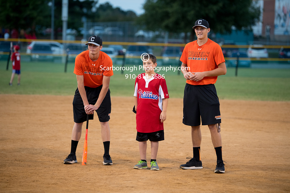 2017 Campbell University Baseball Miracle League Photo By Bennett Scarborough