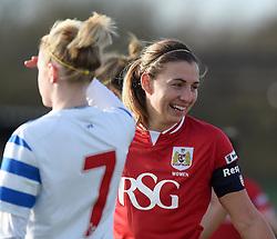 Grace McCatty defender for Bristol City Women - Mandatory by-line: Paul Knight/JMP - Mobile: 07966 386802 - 14/02/2016 -  FOOTBALL - Stoke Gifford Stadium - Bristol, England -  Bristol Academy Women v QPR Ladies - FA Cup third round