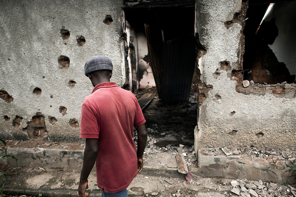 Burundi/Bujumbura 2015-10-26<br /> A father and his twin sons lived in this house in Mutakura neighborhood, an opposition stronghold in Burundi&rsquo;s capital Bujumbura. According to people from the area they were shot dead by police in a revenge attack following the murder of a policeman nearby.