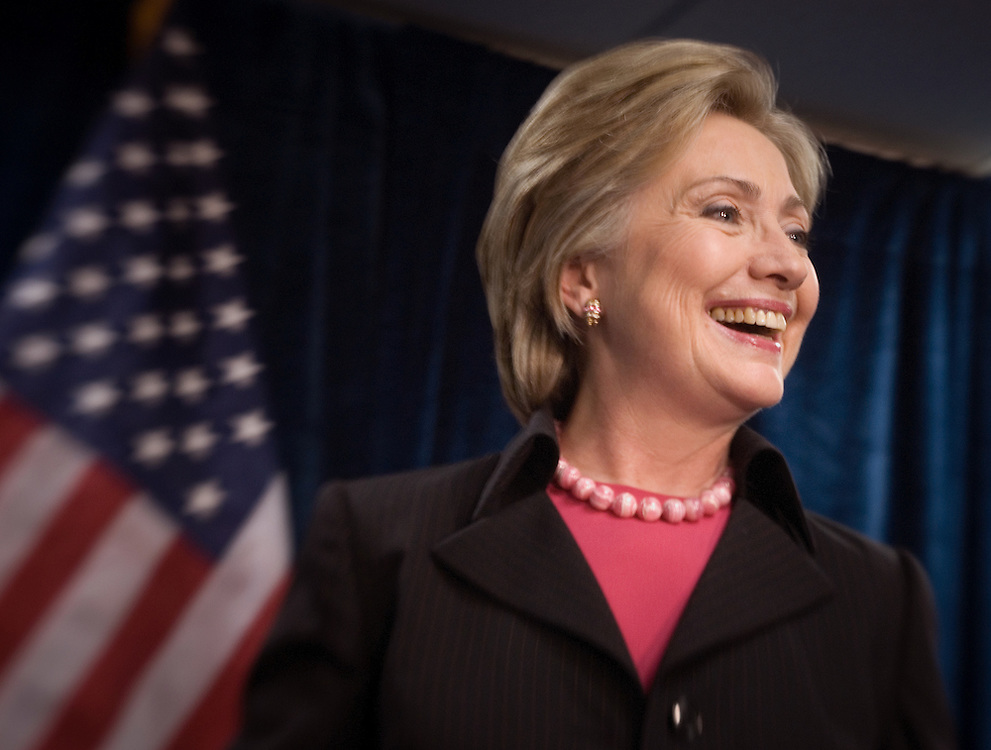 Former U.S. Secretary of State Hillary Clinton. Photo by Johnny Bivera