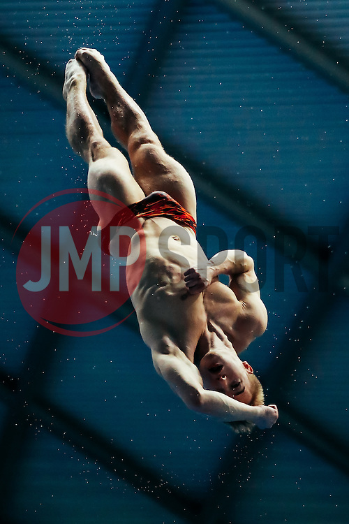 Jack Laugher from City of Leeds Diving Club dives from the 3m Springboard - Mandatory byline: Rogan Thomson/JMP - 11/06/2016 - DIVING - Ponds Forge - Sheffield, England - British Diving Championships 2016 Day 2.