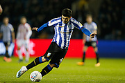 Fernando Forestieri of Sheffield Wednesday during the EFL Sky Bet Championship match between Sheffield Wednesday and Stoke City at Hillsborough, Sheffield, England on 22 October 2019.