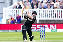 Henry Nicholls of New Zealand batting - Mandatory by-line: Robbie Stephenson/JMP - 14/07/2019 - CRICKET - Lords - London, England - England v New Zealand - ICC Cricket World Cup 2019 - Final
