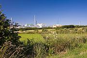 Nuclear waste reprocessing plant at Cap de la Hague in Normandy, France