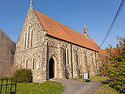 Roman Catholic  Sacred Heart Church, Tisbury, Wiltshire, England, UK built 1898