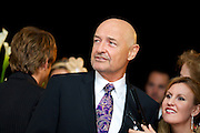 Actor Terry O'Quinn of the TV show Lost appears at the Barnstable Brown Gala in Louisville, Kentucky.